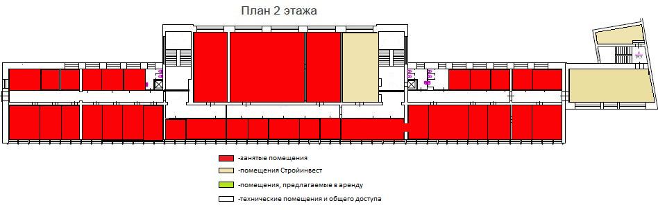 2 этаж БЦ Лениздат